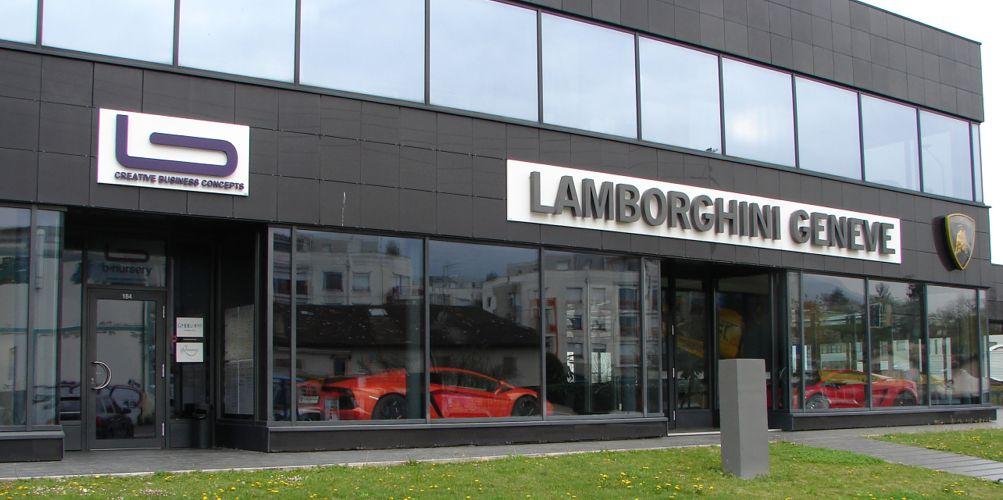 lambo cars geneve