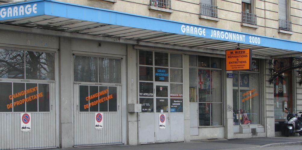 garage jargonnant 2000 rizzo