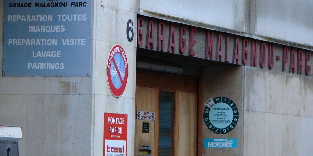 garage malagnou parc geneve