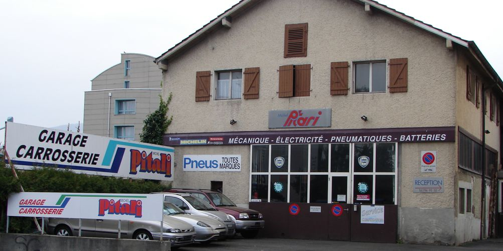 Garage m pitari gen ve 1228 plan les ouates auto2day for Garage michel auto