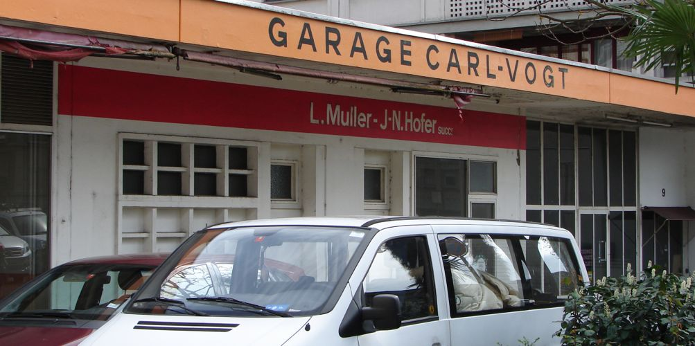 garage carl vogt plainpalais geneve