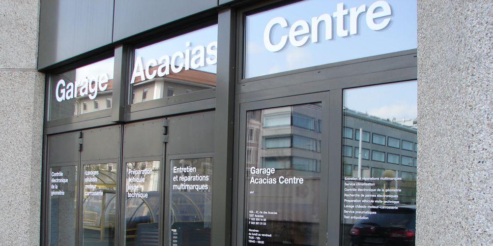 garage acacias centre carouge