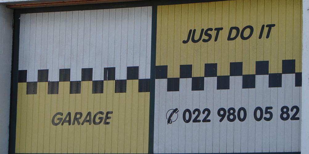 garage just do it meyrin geneve