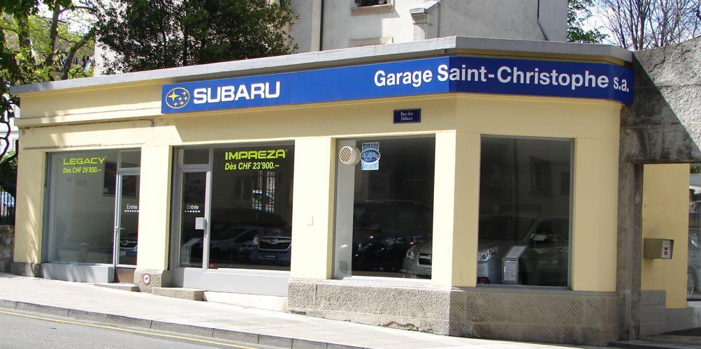garage subaru geneve