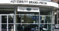 garage land rover volvo geneve