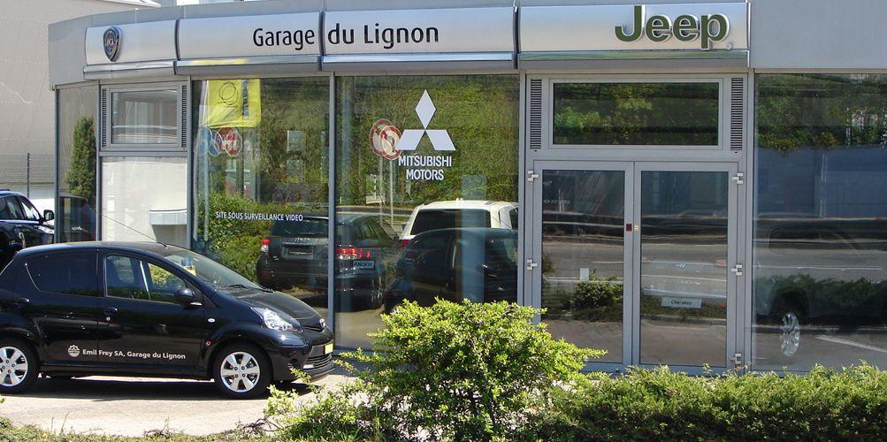garage land rover jeep dodge le lignon geneve