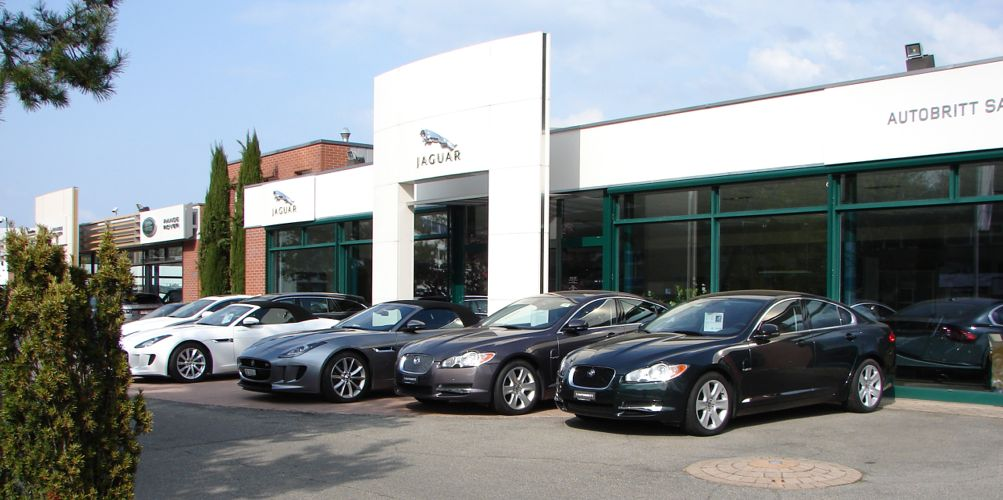 autobritt sa garage jaguar land rover gen ve auto2day. Black Bedroom Furniture Sets. Home Design Ideas