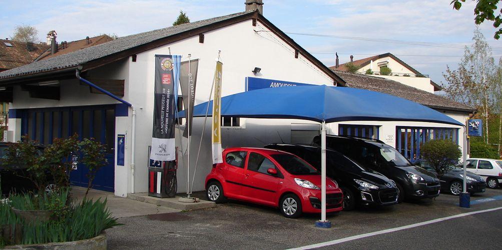 Garage amoudruz sa peugeot gen ve 1233 bernex auto2day for Garage peugeot la tranche sur mer