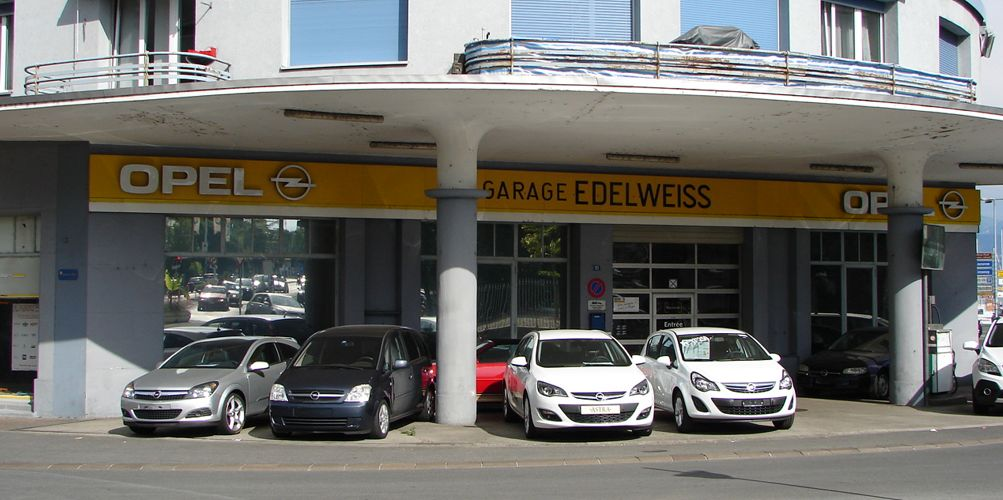 Garage edelweiss opel morges 1110 morges auto2day for Garage alain nemours