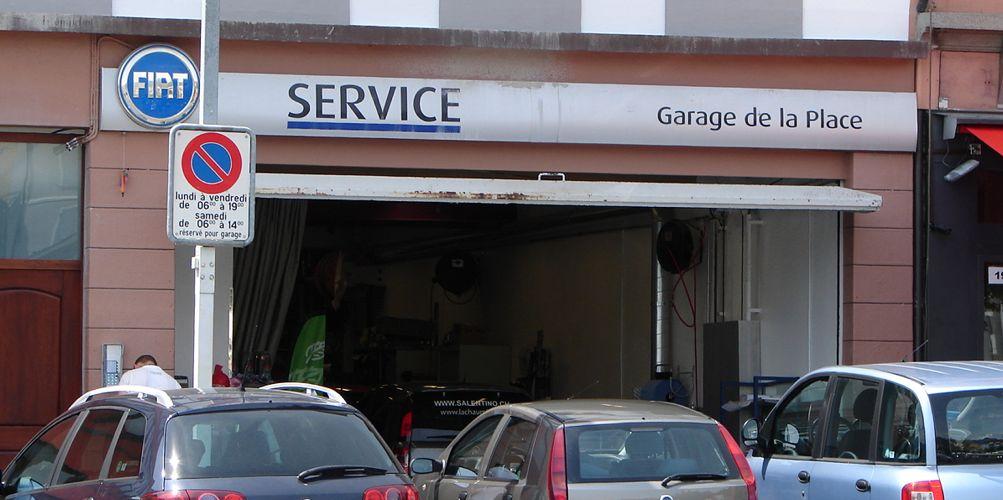 garage de la place vevey