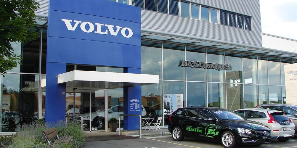 Garage de nyon andre chevalley sa volvo auto2day for Garage volvo bourgoin jallieu