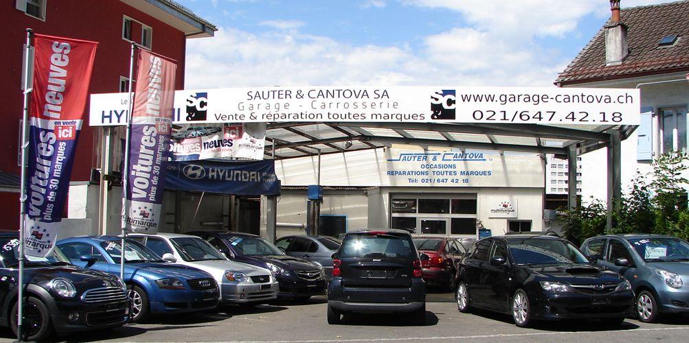 garage sauter et cantova lausanne