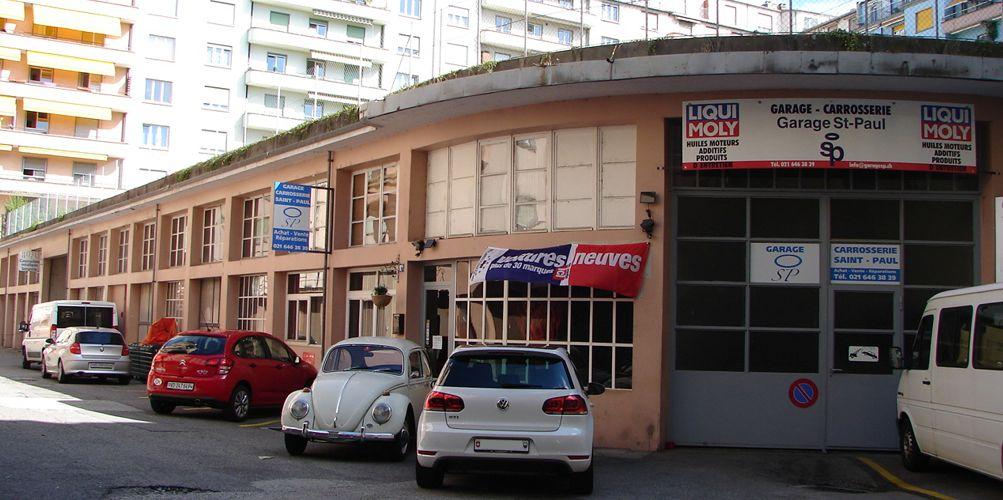 Garage st paul multimarque 1004 lausanne auto2day for Garage pneu pas cher