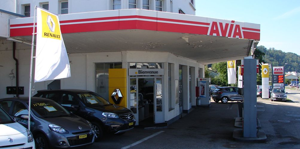 Garage y cars yverdon y cars sa yverdon garage renault for Garage auto les milles