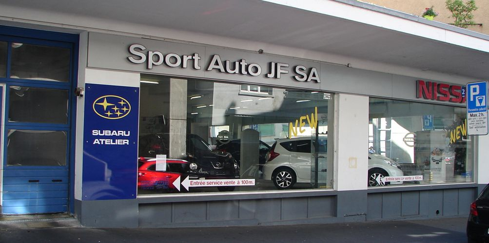garage sport auto jf sa subaru nissan lausanne auto2day. Black Bedroom Furniture Sets. Home Design Ideas