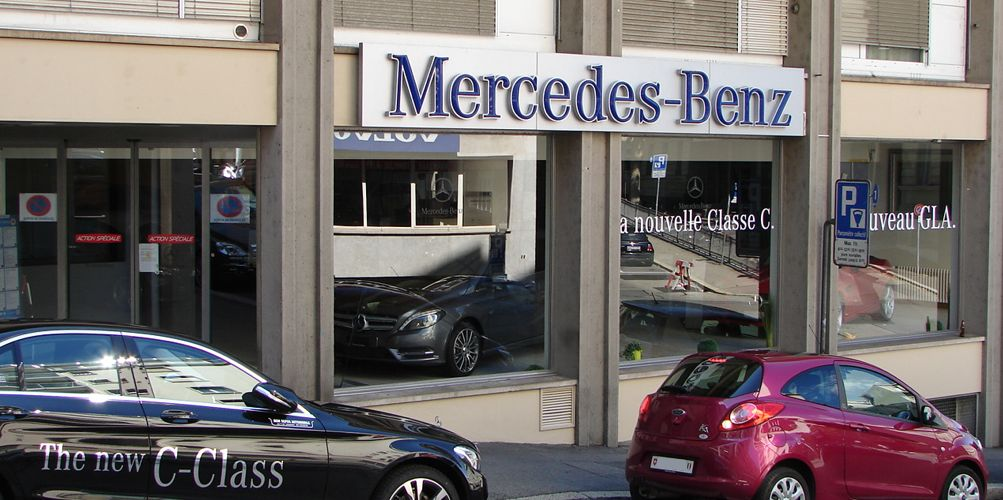 garage mercedes benz lausanne