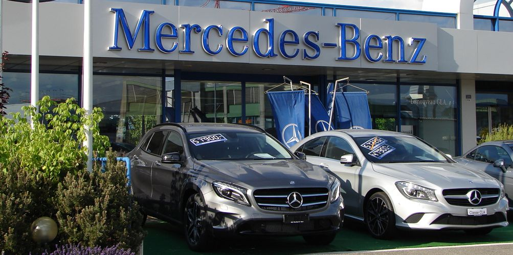 mercedes benz andre chevalley nyon