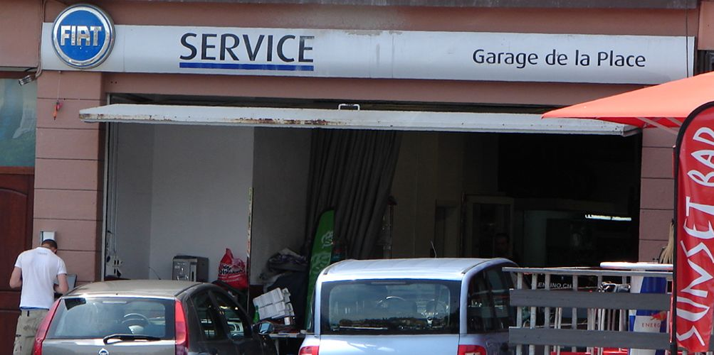 Garage de la place vevey garage fiat 1800 vevey auto2day for Garage 2 places