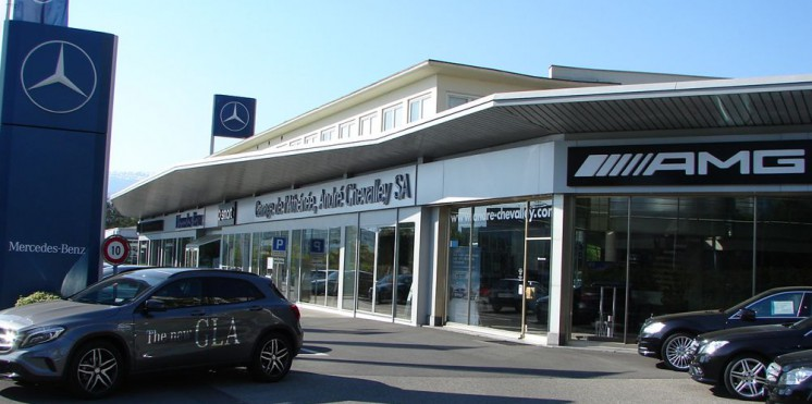 Mercedes benz suisse garage pour achat vente auto2day for Garage mercedes mantes