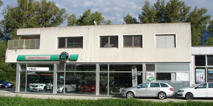 Skoda sion garage pour achat vente auto2day for Garage skoda sion