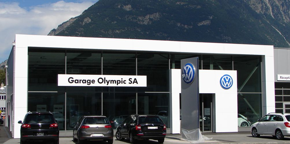 Garage olympic a antille martigny sa vw skoda valais for Garage vw illkirch