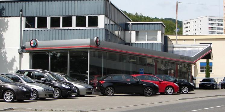Alfa romeo vevey garage pour achat vente auto2day for Garage alfa romeo 95