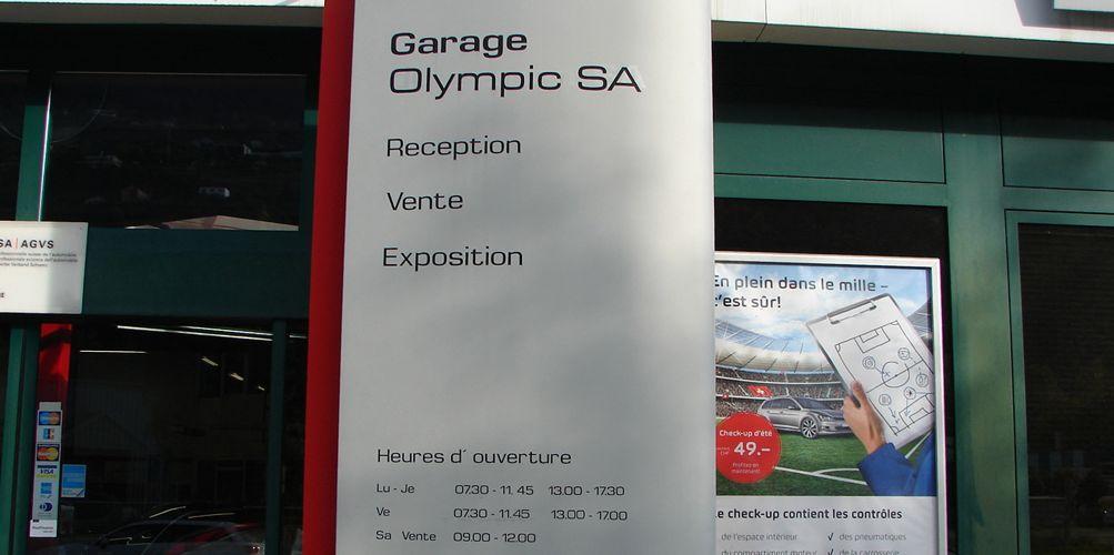 garage seat sion