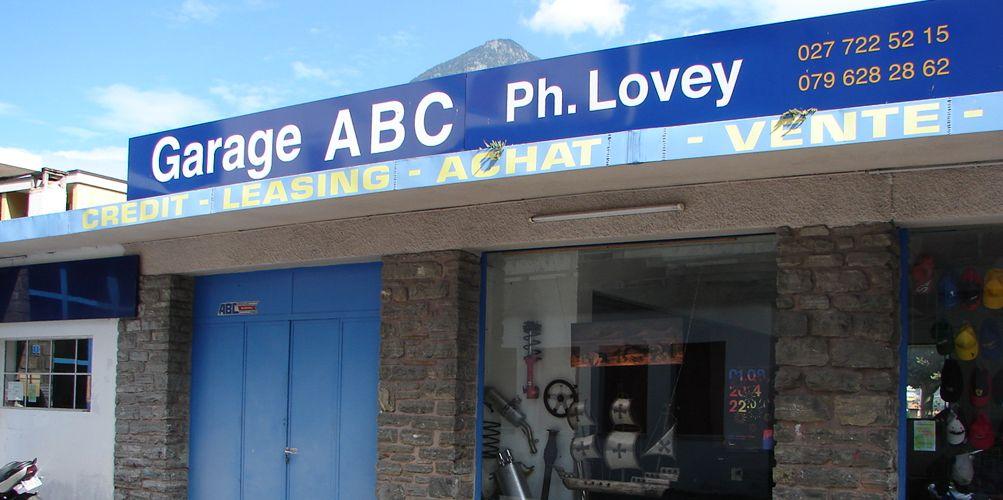 garage philippe lovey martigny valais