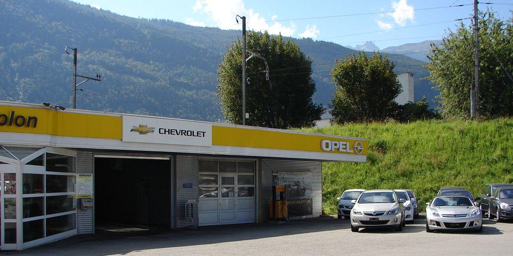garage opel martigny
