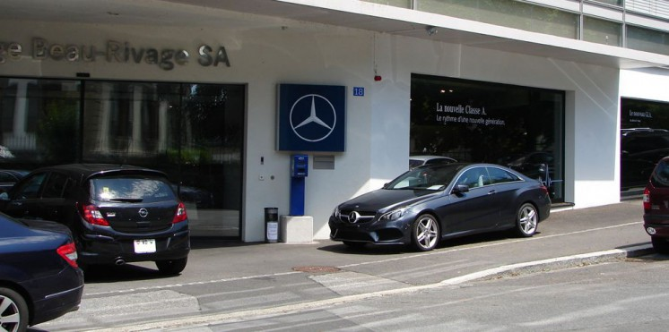 Mercedes benz suisse garage pour achat vente auto2day - Location garage lausanne ...