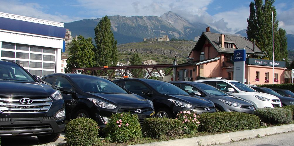 garage du stade ars ne blanc hyundai sion valais auto2day. Black Bedroom Furniture Sets. Home Design Ideas