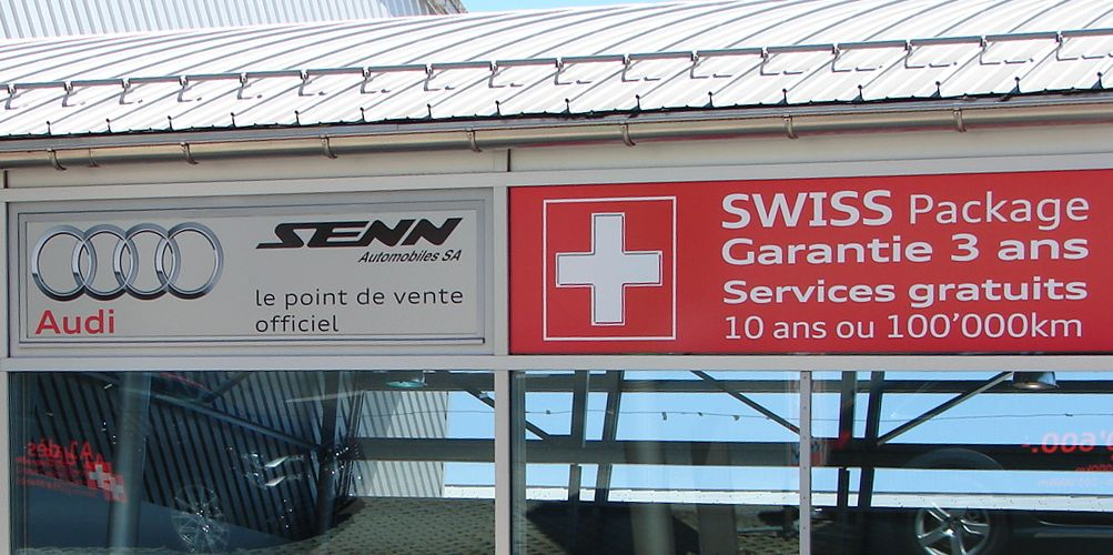 garage automobile senn yverdon