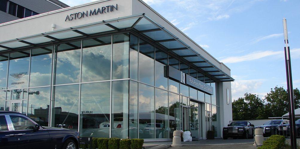 garage aston martin rolls royce nyon