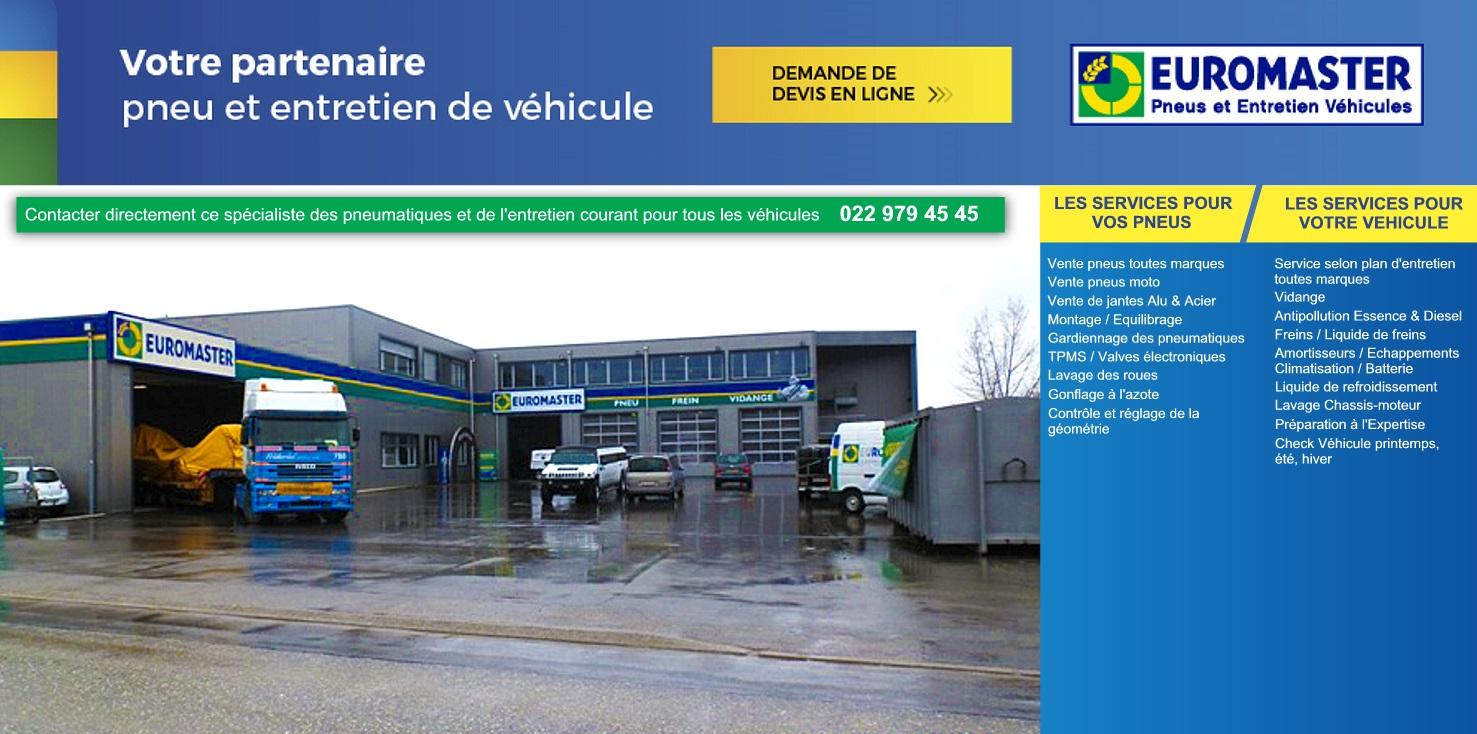 Euromaster Suisse Geneve Vaud Neuchatel