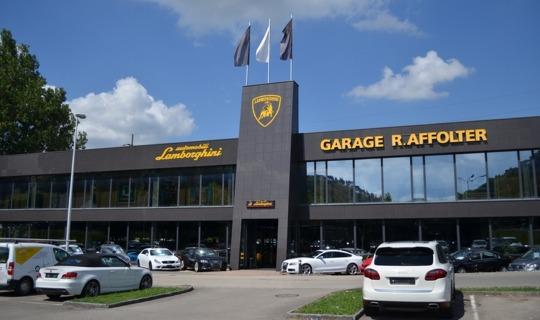 garage lamborghini porrentruy jura