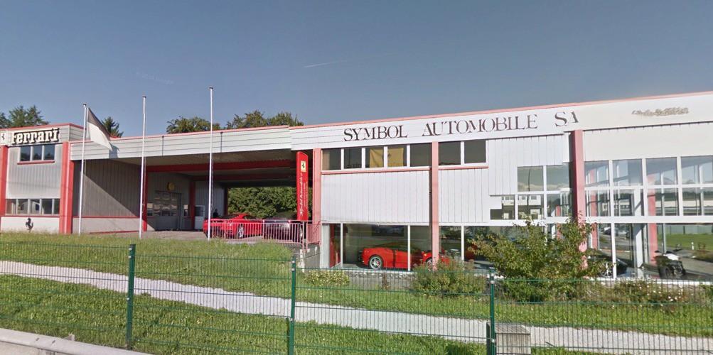 Symbol Automobiles Matran Ferrari Fribourg Auto2day