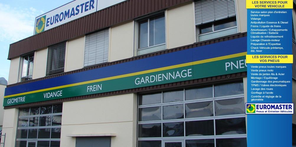 Euromaster meyrin gen ve vente pneus meyrin auto2day for Garage ford geneve meyrin
