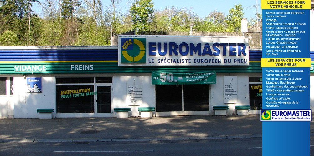euromaster versoix gen ve vente pneus versoix auto2day. Black Bedroom Furniture Sets. Home Design Ideas