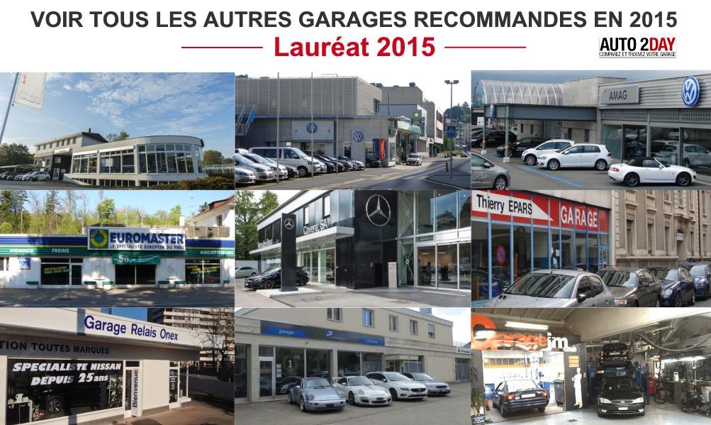 Les laur ats des meilleurs garages autos en 2015 auto2day for Garage fm auto roncq avis