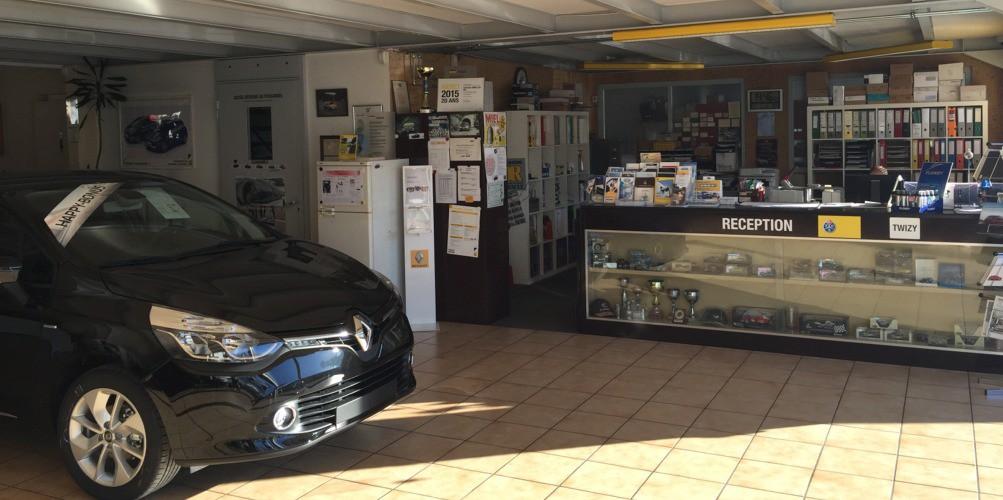 garage renault bex