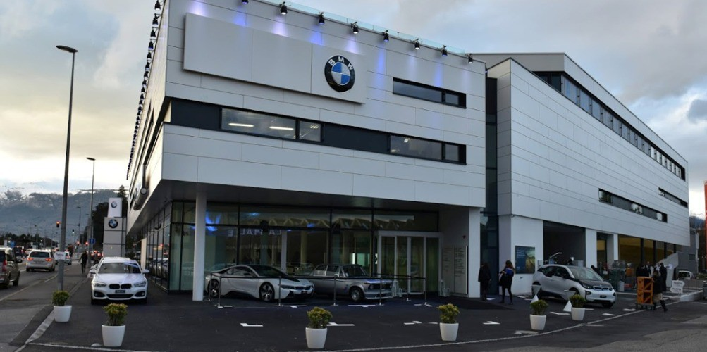 Facchinetti automobiles sa meyrin gen ve garage bmw for Bmw nasa garage juillet niort