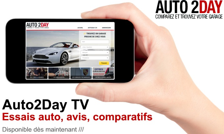 auto2day la plus grande chaine tv web de garage auto suisse