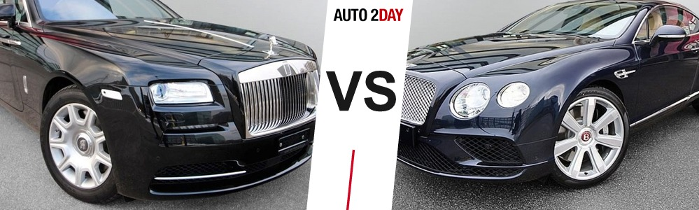 bentley continental gt vs rolls royce wraith