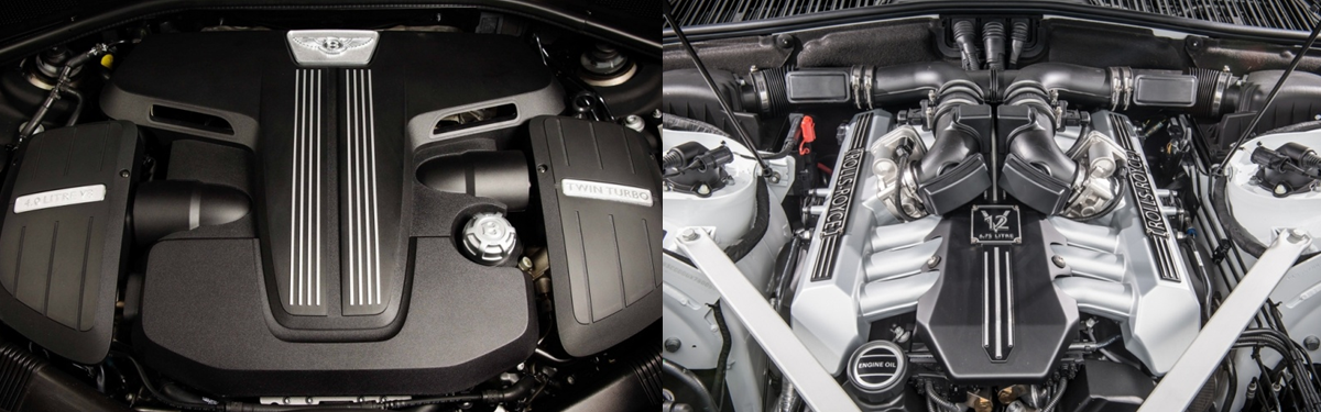 bentley continental gt vs rolls royce wraith motorisation