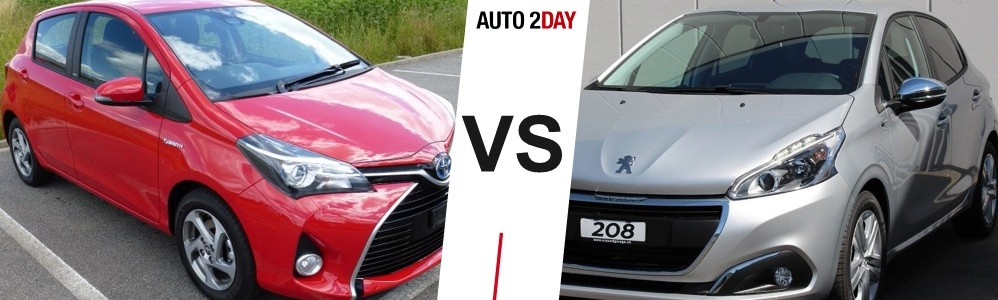 toyota yaris vs peugeot 208 2016 comparatif avis auto2day. Black Bedroom Furniture Sets. Home Design Ideas