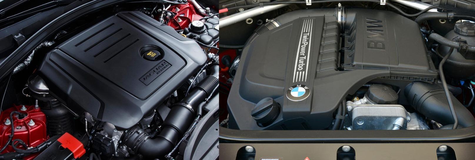 jaguar fpace 2016 vs bmw x4 2016 motorisation