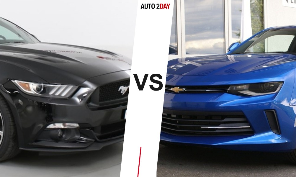 chevrolet camaro vs ford mustang 2016 comparatif auto2day. Black Bedroom Furniture Sets. Home Design Ideas