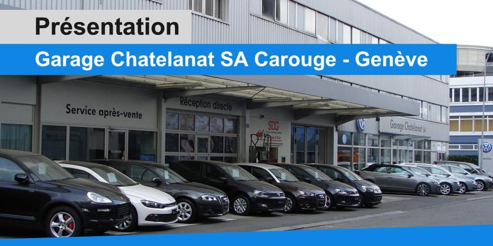 Pr sentation vid o du garage chatelanat sa gen ve auto2day for Garage volkswagen rue de la voute