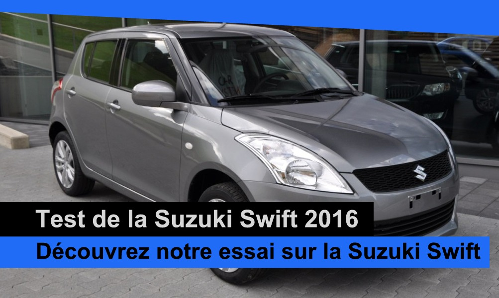 essai de la suzuki swift 2016 suisse notre avis auto2day. Black Bedroom Furniture Sets. Home Design Ideas