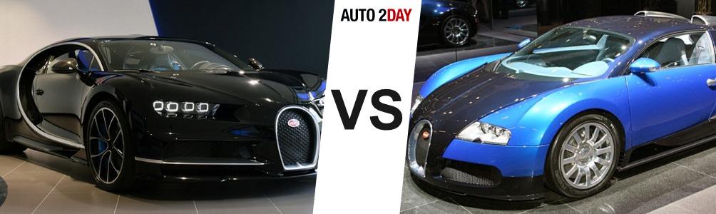 bugatti chiron vs bugatti veyron comparatif auto2day. Black Bedroom Furniture Sets. Home Design Ideas